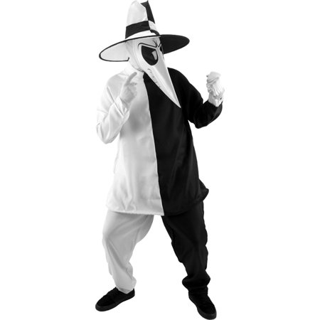 Morris costumes EL402296 Spy Vs Spy Blk-White Sm-Md