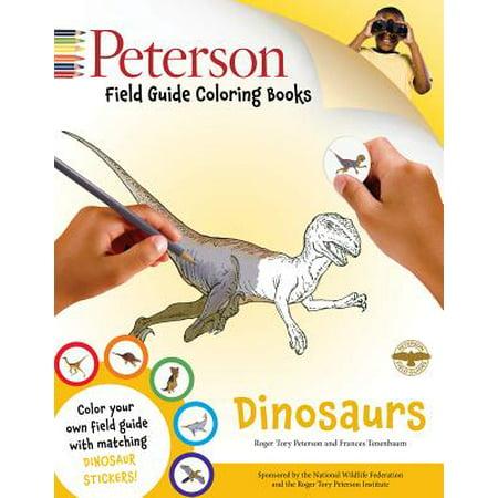 Peterson Field Guide Coloring Books Dinosaurs Walmart Com