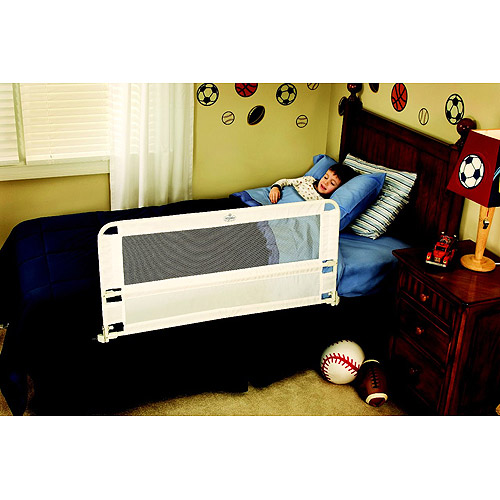 Regalo Hide Away Safety Bed Rail, Includes one Rail 43-Inch Long and 20-Inch Tall