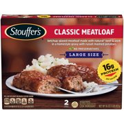 STOUFFER'S Classic Meatloaf, Large Size Frozen Meal