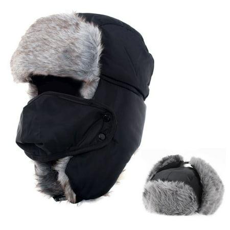 Unisex Winter Trooper Hat Iclover Russian Trapper Hat
