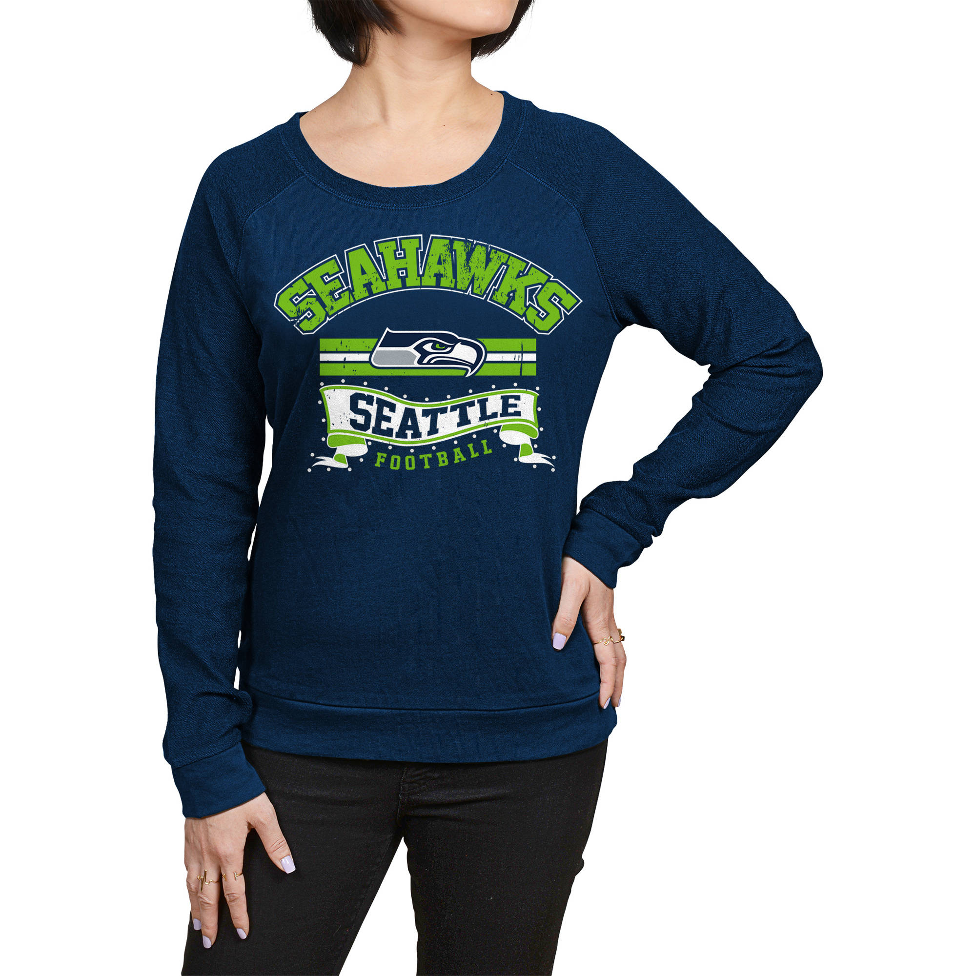 NFL Seattle Seahawks Juniors Fleece Top