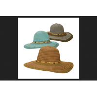 4b8787f989eb9 Product Image Dorfman Pacific Assorted Colors Women s Hat One Size Fits All  Ribbon Cloth
