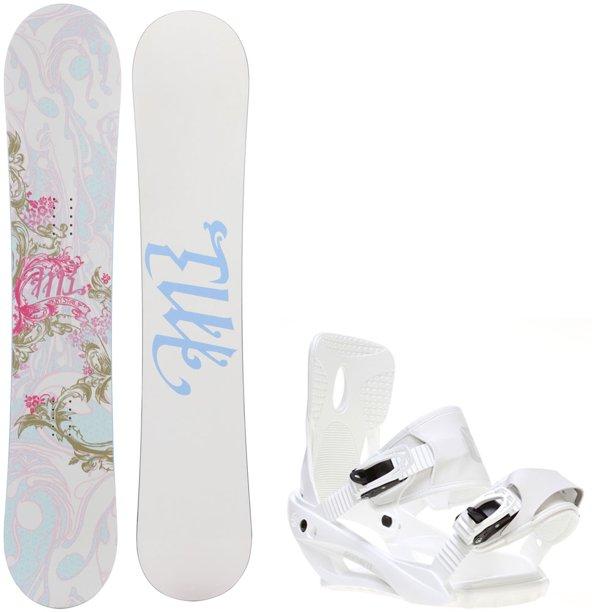 M3 Krystal 154 Womens Snowboard + Sapient Zeta Bindings