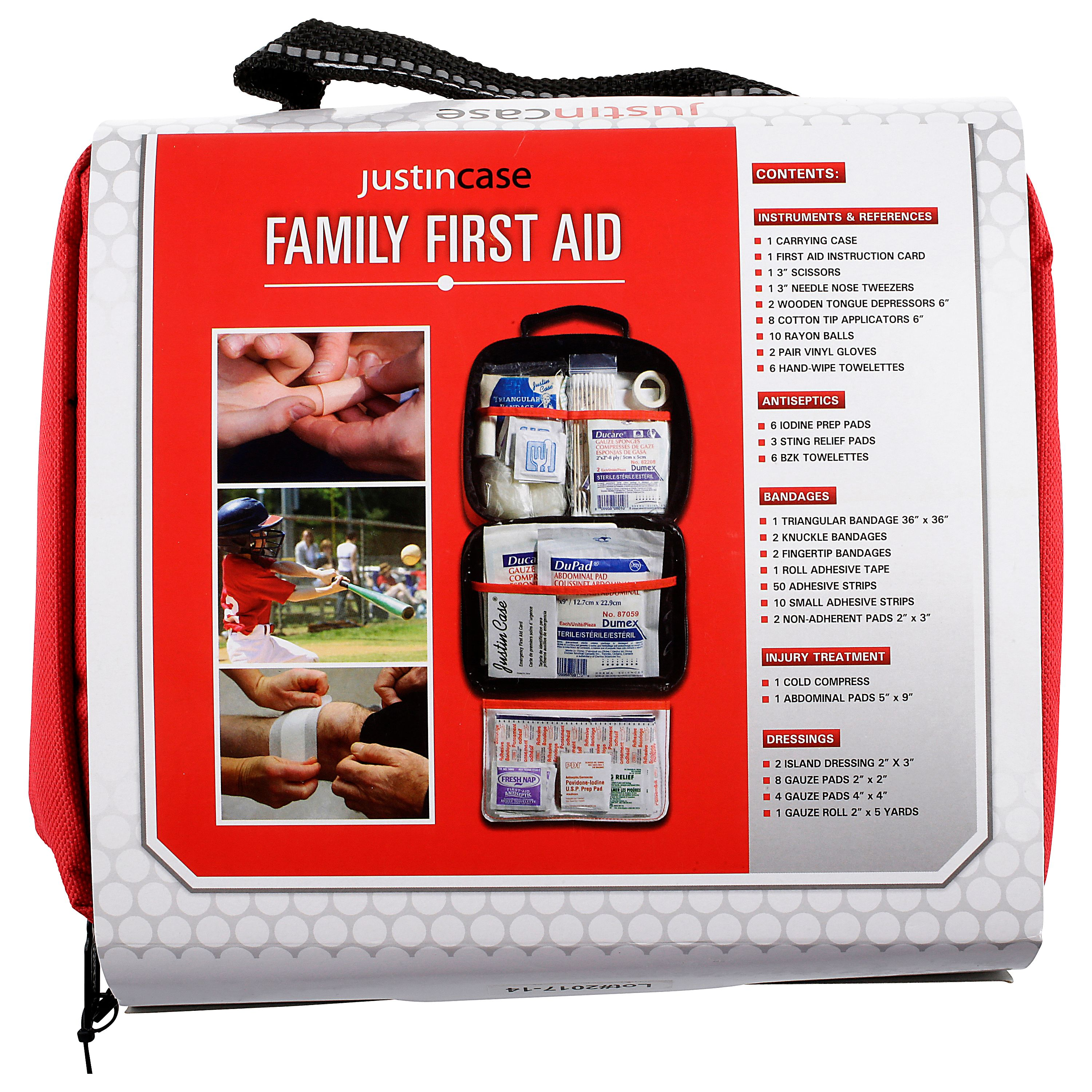 Justin Case Family First Aid Kit