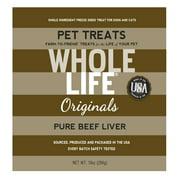 Whole Life Originals Grain-Free Pure Beef Liver Pet Treats, 10 Oz