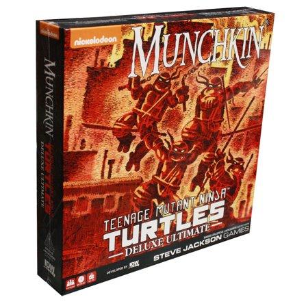 Munchkin Teenage Mutant Ninja Turtles Deluxe Ultimate Edition](Sticky Ninja Games)
