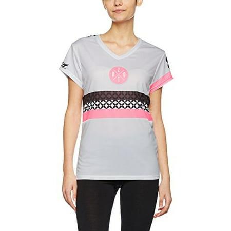 Women's Zoot Run LTD Tee, White/Flo Pink , Medium