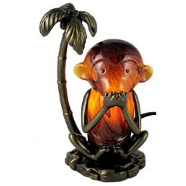 Standard Specialty 1431 Speak No Evil Monkey Table Lamp