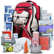 Wise Company 01-621GSG(RED) 5-Day Survival Backpack - Red