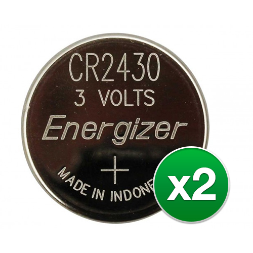 Replacement Battery for Energizer CR2430 (2-Pack) Replacement Battery by Energizer