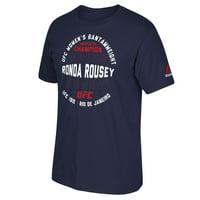 Ronda Rousey UFC Reebok Retro Ronda Champion T-Shirt - Navy