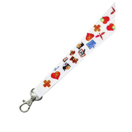 PinMart's Fun Nurse Lanyard Badge ID Holder RN Nursing Gift - Nurse Lanyard