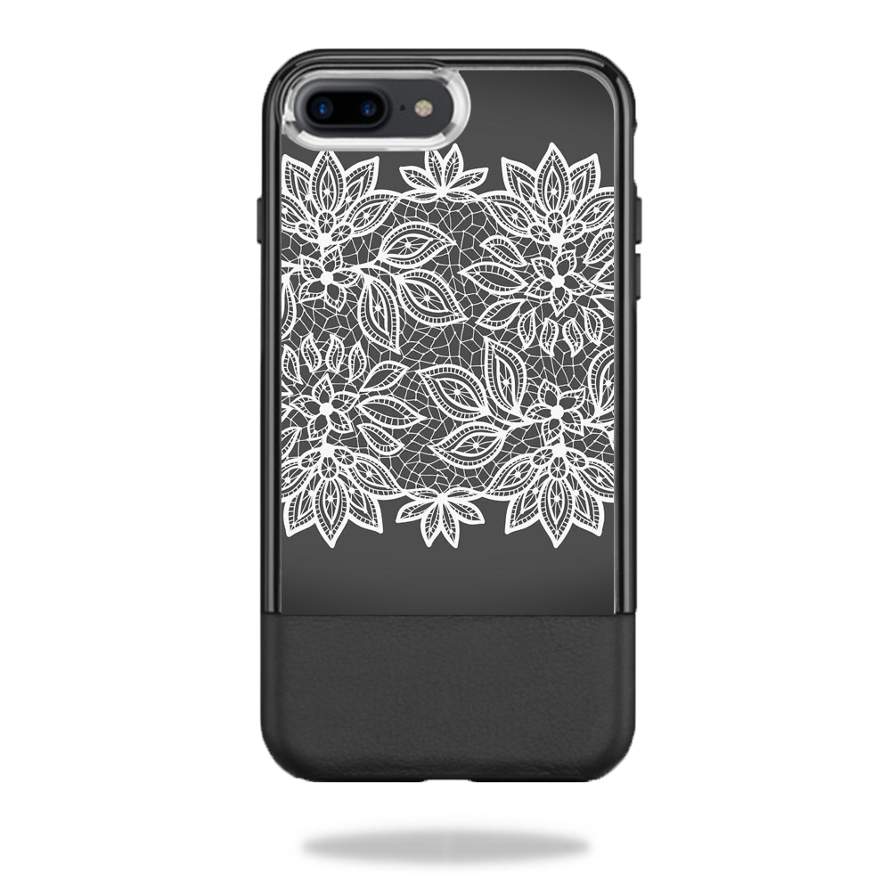 MightySkins Protective Vinyl Skin Decal for OtterBox Statement iPhone 7 Plus / 7S Plus Case  wrap cover sticker skins Floral Lace