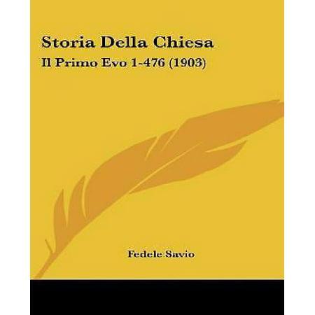 Storia Della Chiesa: Il Primo Evo 1-476 (1903) - image 1 de 1