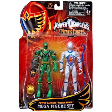 Power Rangers Mystic Force Green Ranger & White Triptoid Action Figure 2-Pack