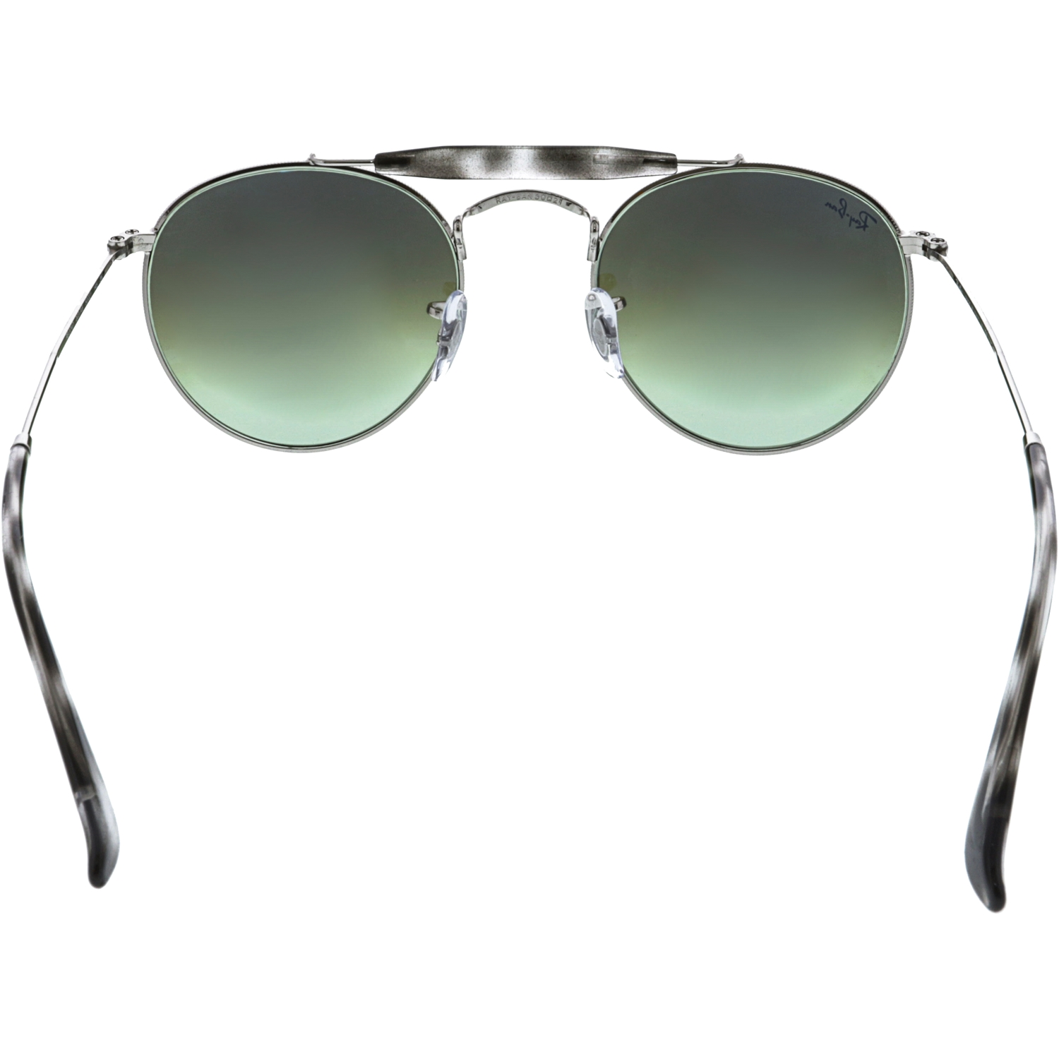 Ray-Ban Polarized RB3747-003/A6-50 Silver Round Sunglasses - image 2 of 3