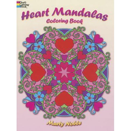 Heart Mandalas Coloring Book (Create In Me A Clean Heart Coloring Page)