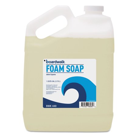 - Foaming Hand Soap, Honey Almond Scent, 1 Gallon Bottle