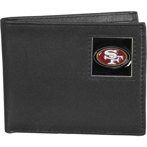 NFL - Siskiyou - Bi-fold Leather Wallet - San Francisco 49ers