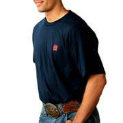 Cinch Western Shirt Mens Short Sleeve Basic Tee Jersey Navy MTT1690197