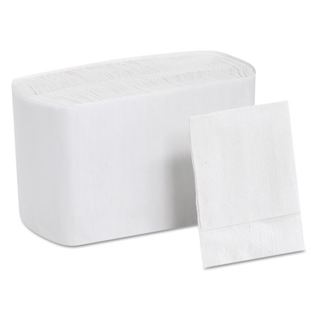 Georgia Pacific Professional White Low Fold Dispenser Napkins, 8000 count - Napkin Fold