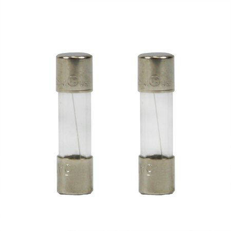 pack of 2 replacement fuses for christmas lights 5 amps