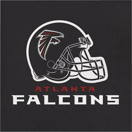 Creative Converting Atlanta Falcons Napkins, 16 - Atlanta Falcons Party Supplies