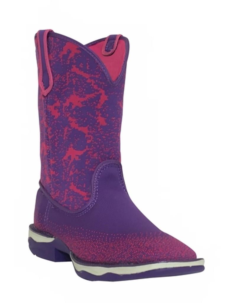 Laredo Western Boots Womens Berry Woven Light Square Toe Purple 5956 by Laredo