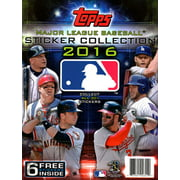 2016 MLB Sticker Collection Album