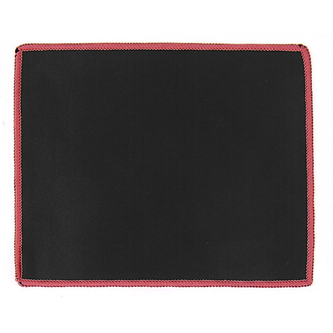 Desktop Computer PC Anti Slip Neoprene Gaming Mouse Mat Pad 25cmx21cm Black Red