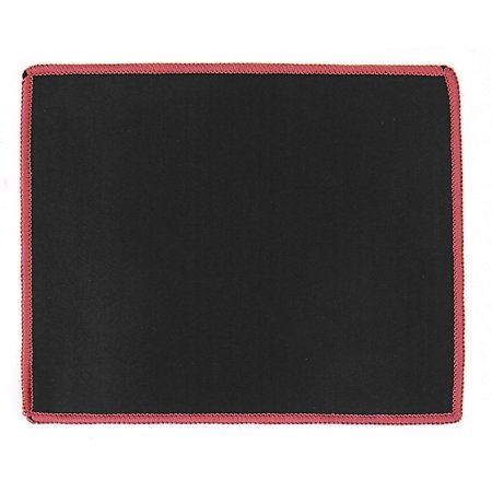 Desktop Computer PC Anti Slip Neoprene Gaming Mouse Mat Pad 25cmx21cm Black Red