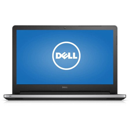 Dell Silver 15.6  Inspiron 15 5559 Laptop PC with Intel Core i5-6200U Processor, 12GB Memory, touch screen, 1TB Hard Drive and Windows 10 Home Dell 15.6  Inspiron 15 5559 Laptop PC: Key Features and Benefits: Intel Core i5-6200U processor2.80GHz, 3MB Cache12GB DDR3 SDRAM system memory (expandable up to 16GB)Gives you the power to handle most power-hungry applications and tons of multimedia work1TB SATA hard driveStore 666,000 photos, 285,000 songs or 526 hours of HD video and moreTray load DVD driveWatch movies and read and write CDs and DVDs in multiple formatsIntel ®3160 AC (1x1 AC, 433 Mbps)Connect to a broadband modem with wired Ethernet or wirelessly connect to a WiFi signal or hotspot with the 802.11ac connection built into your PC15.6  touchscreen displayIntel HD GraphicsAdditional Features:720p HD webcam3-in-1 memory card readerBluetooth 4.01 x USB 3.0 port, 2 x USB 2.0 ports, 1 x HDMI port, 1 x RJ-45 Ethernet portRechargeable battery for up to 7 hours 28 min run time5.47 lbs, 14.9  x 0.95  x 10.25 Software: Genuine Microsoft Windows 10 Home 64-bit editionMicrosoft Office trialMcAfee LiveSafe (30-day trial)Backup and Restore options built into Windows allow you to create safety copies of your most important personal files, so you're always prepared for the worstSupport and Warranty:1-year limited hardware warranty; 24/7 technical assistance available online or toll-free by phoneRestore discs are not included (unless specified by supplier). We recommend you use the installed software to create your own restore and backup DVD the first week you use the computer. What's In The Box: Power cord and AC adapterRechargeable batteryQuick Start GuideTo see the manufacturer's specifications for this product, click here. To see a list of our PC Accessories, click here. Trade in your used computer and electronics for more cash to spend at Walmart. Good for your wallet and the environment - click here.