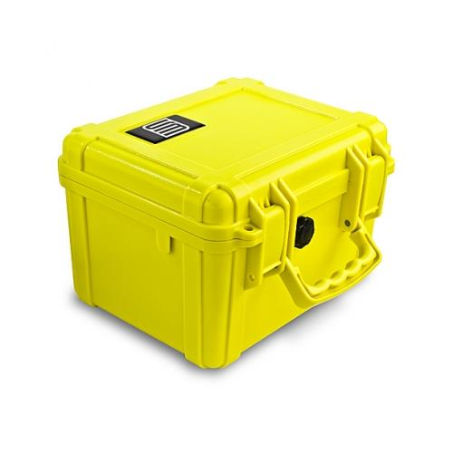 S3 T5500 Dry Protective Gun Case, Yellow, Cubed Foam T5500-2