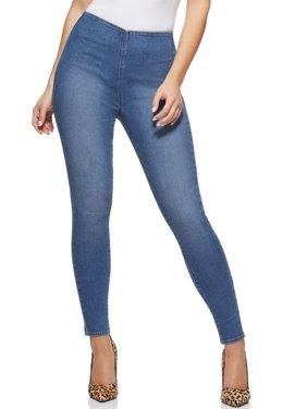 Sofia Jeans by Sofia Vergara Rosa Jegging Curvy High Waist Pull On Ankle Jean Women's