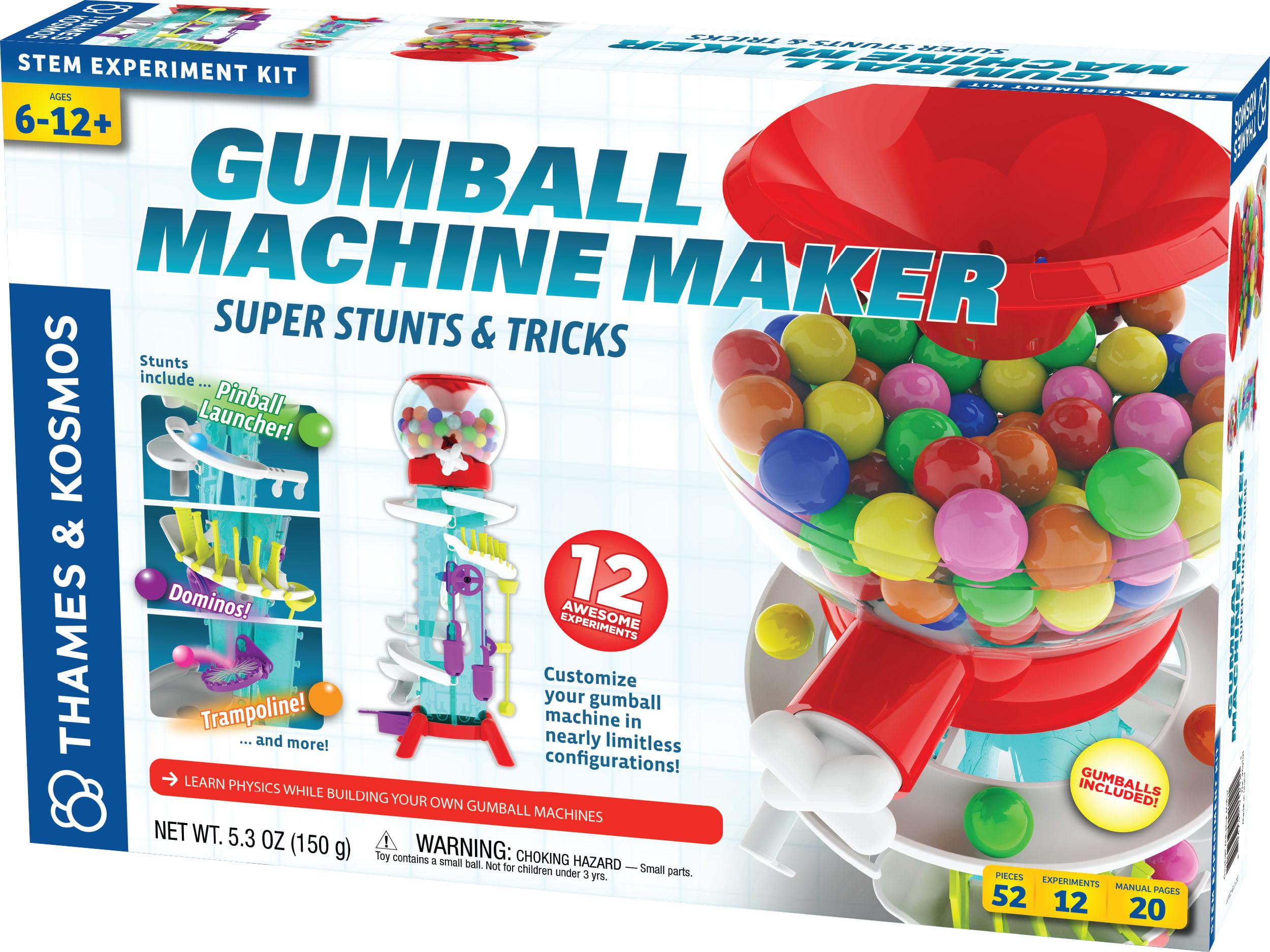 Thames & Kosmos Gumball Machine Maker: Super Stunts & Tricks