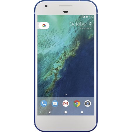 Google Pixel 32GB Verizon Phone w/ 12.3MP Camera - Really Blue (Best Uses Google Home)