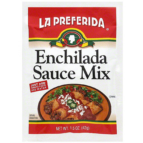 La Preferida Enchilada Sauce Mix, 1.5 oz  (Pack of 24)