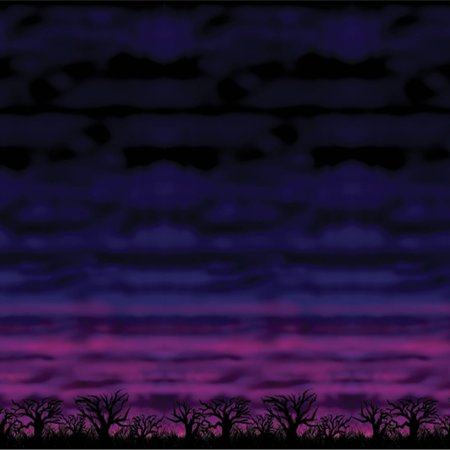Spooky Sky Backdrop Halloween Decoration - Halloween Spooky Noises