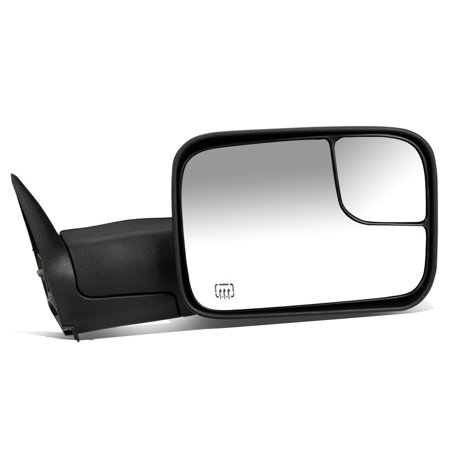 For 1994 to 1997 Dodge Ram Truck 1500 / 2500 / 3500 Powered Adjustment+Heated+Flip Up Towing Mirror (Right / Passenger) 95 96