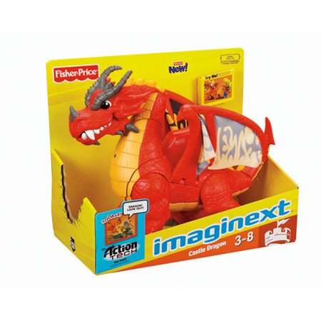 FisherPrice Imaginext Castle Dragon  Walmartcom