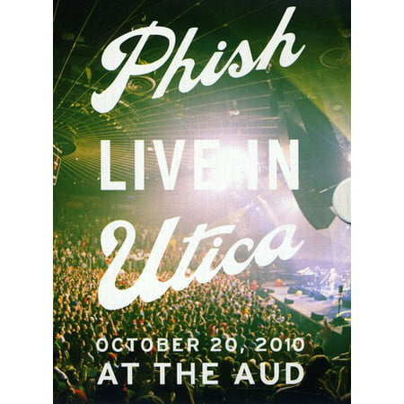 Phish: Live in Utica 2010 (DVD + - Phish Halloween Set 1