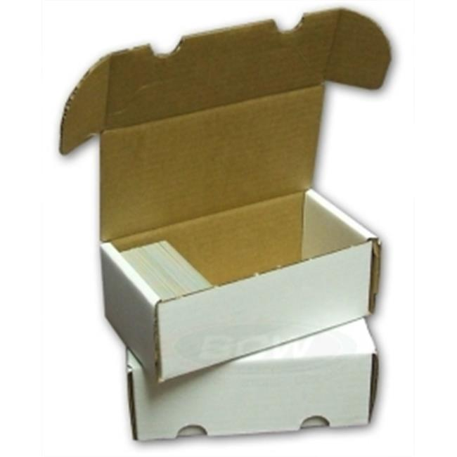 Star Packaging BX-400-B Cardboard - 400 Count Storage Box Bundle of 50