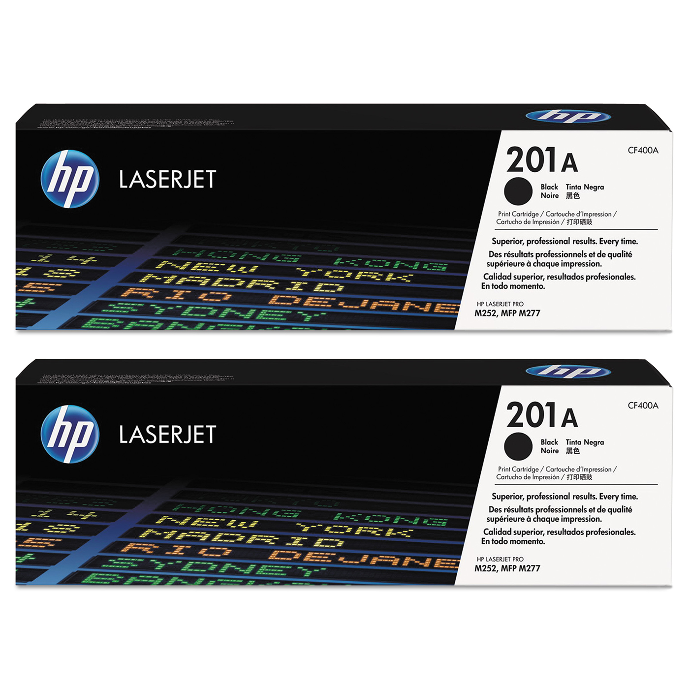 Buy two HP201A Black Toner and get $25 off