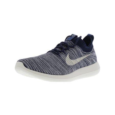 premium selection 0197d 30444 Nike Women s Roshe Two Flyknit V2 Pale Grey   Dark Ankle-High Running Shoe  ...