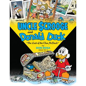 Walt Disney Uncle Scrooge And Donald Duck The Don Ros
