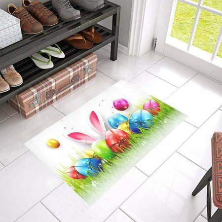 MKHERT Easter Doormat Rug Home Decor Floor Mat Bath Mat 23.6x15.7