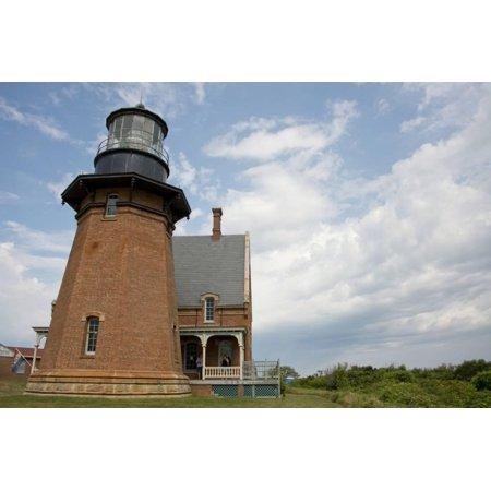 USA, Rhode Island, Block Island, Mohegan Bluffs, Southeast Lighthouse. Print Wall Art By Cindy Miller Hopkins (Southeast Lighthouse Block Island)