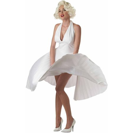 Deluxe Marilyn Women's Adult Halloween Costume - Zombie Marilyn Monroe Costume