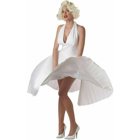 Deluxe Marilyn Women's Adult Halloween Costume (Marilyn Manson Halloween Live)